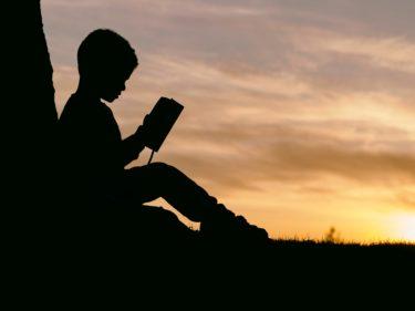 読む力が国語力アップにつながることをイメージした画像