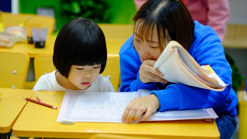 マンツーマン個別指導塾の指導風景イメージ画像